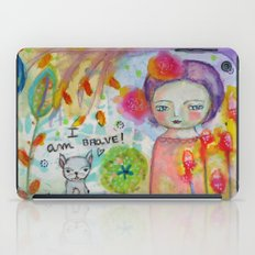 I am Brave ! iPad Case