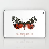 Butter flies - Callimorpha_Dominula Laptop & iPad Skin