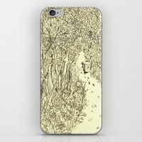 Following Footprints iPhone & iPod Skin
