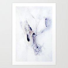 Snow hoho* Art Print