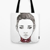 Heart Tattoo Tote Bag