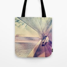 Coral House Tote Bag