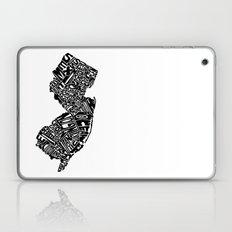 Typographic New Jersey Laptop & iPad Skin