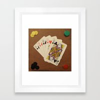 Full de Damas Framed Art Print