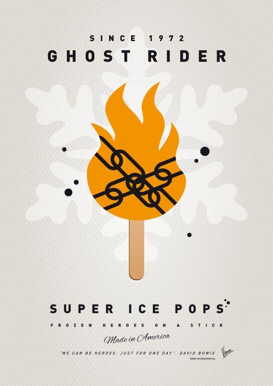 My SUPER ICE POP- No07 Art Print
