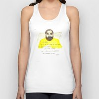 Quickly - Bored to Death Unisex Tank Top