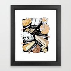 Cheese Plate! Framed Art Print