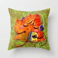 fall season Throw Pillow
