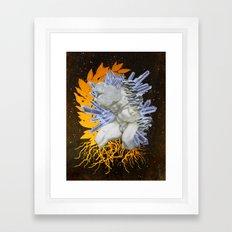 Réincarnation Framed Art Print