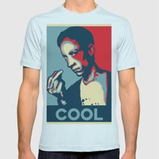 Cool Coolcoolcool Mens Fitted Tee Light Blue SMALL