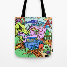 A+ Tension (Attention) Tote Bag