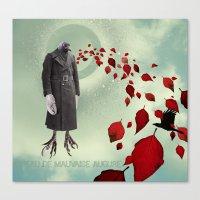 Oiseau De Mauvaise Augur… Canvas Print