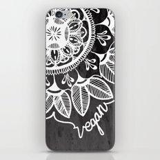 Vegan Mandela drawing iPhone & iPod Skin