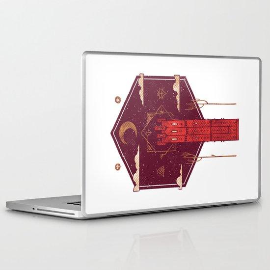 The Crimson Tower Laptop & iPad Skin