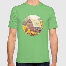 The Farm Mens Fitted Tee Grass SMALL