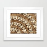 The Rings of Cubicle Hell Framed Art Print