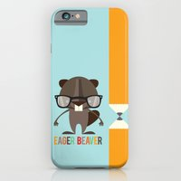 iPhone & iPod Case featuring Eager Beaver by Steph Dillon