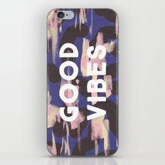 Good Vibes Abstract Camo Pattern iPhone & iPod Skin