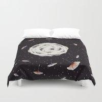 Space Dandelion Duvet Cover