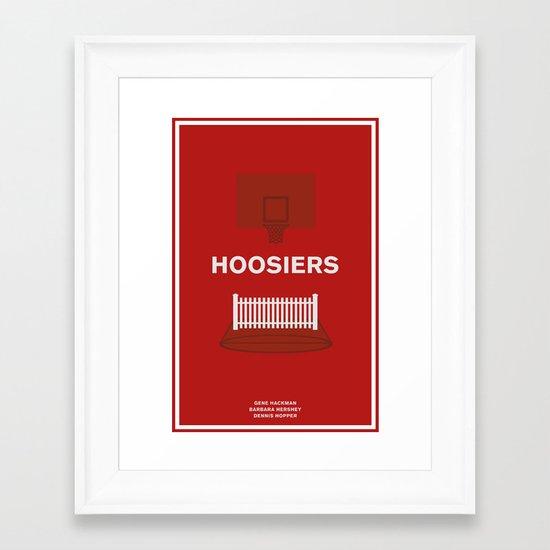 Hoosiers Framed Art Print