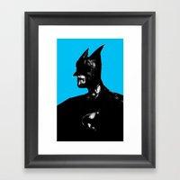 Dark Knight Framed Art Print