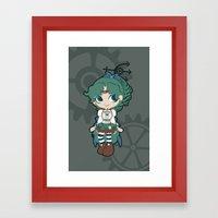 Steampunk Sailor Neptune… Framed Art Print