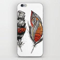 Sunset Feathers iPhone & iPod Skin