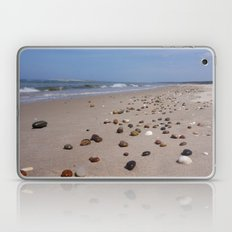 Shiney Stoney Beach - Nairn Scotland - Stones Laptop & iPad Skin