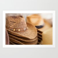Cowboy Couture Art Print