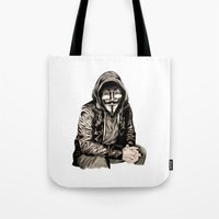 Anonymous Gangster Tote Bag