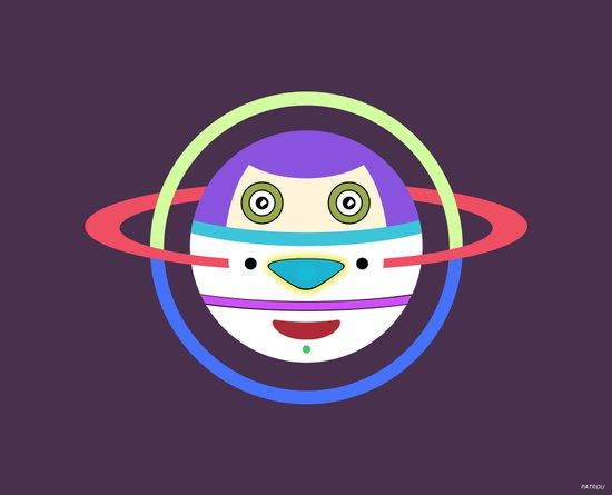 Spaceman 2 Art Print