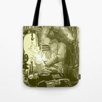 Doombots Tote Bag