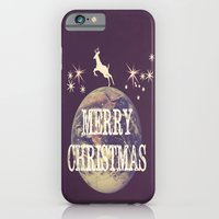 Fly Me To The Moon Merry Christmas Design iPhone 6 Slim Case