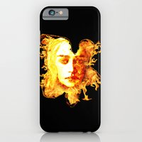 iPhone & iPod Case featuring Bride of Fire v2 t shirt by D77 The DigArtisT