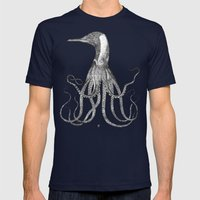 The Octo-Loon Mens Fitted Tee Navy SMALL