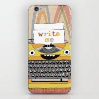 write me iPhone & iPod Skin