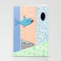Sharkey Stationery Cards