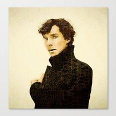 Sherlock Lives Canvas Print