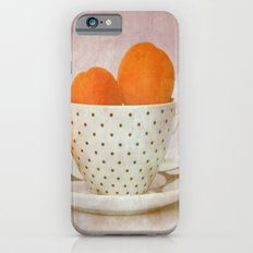 a cup full of apricots Slim Case iPhone 6s