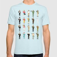 Murrays 2014 Mens Fitted Tee Light Blue SMALL