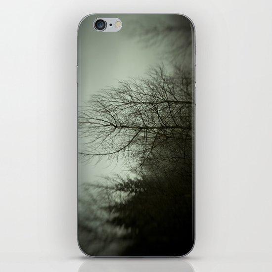 Tree mist iPhone & iPod Skin
