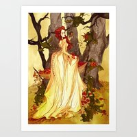 The Goblin Market Art Print