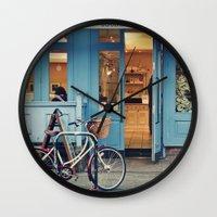 Boulangerie Wall Clock