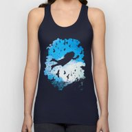 Above The Clouds Unisex Tank Top