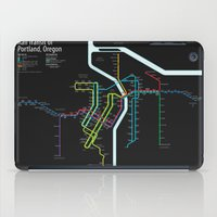 Rail Transit of Portland, Oregon iPad Case