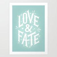 Love & Fate Art Print