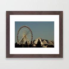 Navy Pier - Chicago, IL Framed Art Print