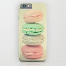 Four Macarons Slim Case iPhone 6s