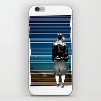 The Walking Man iPhone & iPod Skin