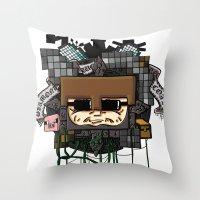 CRAFT - Book Cover Throw Pillow
